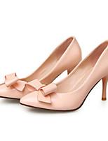 abordables -Femme Escarpins Cuir Verni Printemps Chaussures à Talons Talon Aiguille Beige / Bleu / Rose