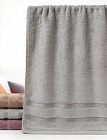 abordables -Qualité supérieure Serviette, Couleur Pleine 100% Coton Supima 1 pcs