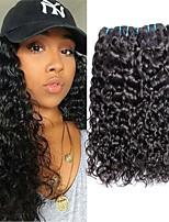 abordables -3 offres groupées Cheveux Malaisiens Ondulation Non Traités / Cheveux humains Cadeaux / Tissages de cheveux humains / Bundle cheveux 8-28 pouce Couleur naturelle Tissages de cheveux humains Classique