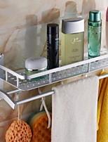 baratos -Prateleira de Banheiro Novo Design / Legal Modern Alumínio 1pç Montagem de Parede