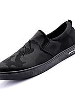 abordables -Homme Chaussures de confort Polyuréthane Automne Basket Noir / Noir / blanc