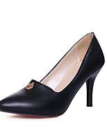 Недорогие -Жен. Комфортная обувь Полиуретан Весна Обувь на каблуках На шпильке Черный / Розовый / Светло-синий