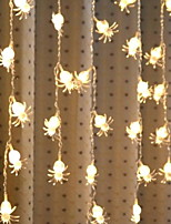 abordables -4m Guirlandes Lumineuses 96 LED Blanc Chaud Décorative 220-240 V 1 set
