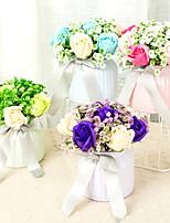 Недорогие -Искусственные Цветы 1 Филиал Классический Для вечеринки / Свадьба Розы Букеты на стол