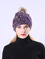 Недорогие -Жен. Классический / Праздник Широкополая шляпа - Плиссировка Пэчворк