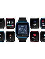 baratos -Pulseira inteligente Zeblaze Crystal 2 para Android iOS Bluetooth Esportivo Impermeável Monitor de Batimento Cardíaco Tela de toque Calorias Queimadas Podômetro Aviso de Chamada Monitor de Atividade