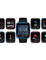 baratos -Zeblaze Crystal 2 Pulseira inteligente Android iOS Bluetooth Esportivo Impermeável Monitor de Batimento Cardíaco Tela de toque Calorias Queimadas Podômetro Aviso de Chamada Monitor de Atividade