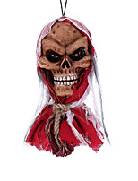 Недорогие -Праздничные украшения Украшения для Хэллоуина Хэллоуин Развлекательный Декоративная / Cool Красный 1шт