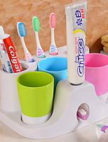 abordables -Gobelet pour brosse à dents Adorable / Créatif Moderne / Contemporain Plastique 1 set Brosse à dents et accessoires