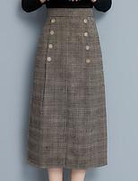 Недорогие -женские выходы midi карандашные юбки - сплошной цвет