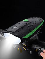 Недорогие -Передняя фара для велосипеда Светодиодная лампа Велосипедные фары Велоспорт Противо-туманное покрытие, Водонепроницаемый, Портативные Перезаряжаемая батарея 500 lm Перезаряжаемая батарея Белый