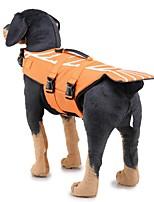 baratos -Cachorros Colete Salva-Vidas Roupas para Cães Geométrica / Clássico Vermelho / Azul Tecido Ocasiões Especiais Para animais de estimação Masculino Original / Casual / desportivo