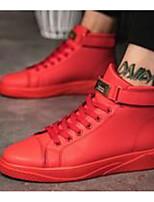 Недорогие -Муж. Комфортная обувь Микроволокно Весна & осень Кеды Красный