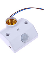 Недорогие -YWXLIGHT® 1шт 8.5 cm E26 / E27 Инфракрасный датчик / Аксессуары для ламп пластик Разъем для лампочки белый