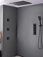 Недорогие -Смеситель для душа - Современный Окрашенные отделки Душевая система Керамический клапан