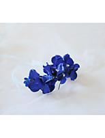 Недорогие -Свадебные цветы Букетик на запястье Свадьба / Свадебные прием бисер / Ткань 0-10 cm