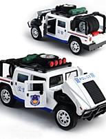 Недорогие -Игрушечные машинки внедорожник Полиция Cool Пластиковые & Металл Детские Взрослые Все Игрушки Подарок