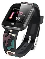 baratos -Pulseira inteligente CD16 para Android iOS Bluetooth satélite Esportivo Impermeável Monitor de Batimento Cardíaco Medição de Pressão Sanguínea Podômetro Aviso de Chamada Monitor de Atividade Monitor