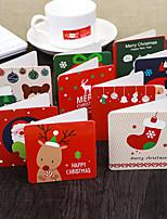 baratos -Cartões de Obrigado Papel de Cartão Decorações do casamento Natal / Festa / Noite Natal / Criativo / Tema vintage Todas as Estações