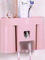 baratos -Caneca de Escova de Dentes Criativo Moderno / Contemporâneo Plástico 1pç Escova de Dentes e Acessórios