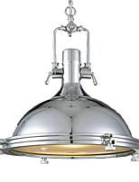 baratos -QINGMING® Mini Luzes Pingente Luz Descendente Galvanizar Acabamentos Pintados Metal Vidro Estilo Mini 110-120V / 220-240V