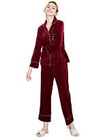 abordables -Costumes Vêtement de nuit Femme - Imprimé, Lettre