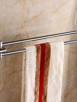 Недорогие -Держатель для полотенец Новый дизайн / Cool Modern Нержавеющая сталь / железо 1шт 2-х опорная балка На стену