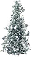 Недорогие -Новогодние ёлки Праздник пластик Рождественская елка Для вечеринок Рождественские украшения