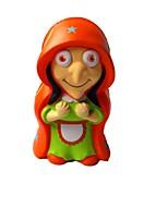 Недорогие -Резиновые игрушки Устройства для снятия стресса колдунья Очаровательный Удобная ручка Декомпрессионные игрушки Поливинилхлорид 1 pcs Дети Взрослые Все Игрушки Подарок