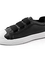 Недорогие -Муж. Комфортная обувь Полиуретан Осень На каждый день Кеды Нескользкий Белый / Черный