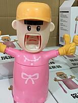 Недорогие -Стакан для зубных щеток обожаемый / Креатив Модерн пластик 1шт Зубная щетка и аксессуары