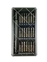 baratos -novo conjunto de chaves de fenda de liga de alumínio de precisão 22 em 1