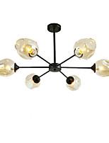 abordables -QINGMING® 6 lumières Mini Lustre Lumière d'ambiance Finitions Peintes Métal Verre Style mini 110-120V / 220-240V