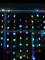 abordables -2m Guirlandes Lumineuses 128 LED Plusieurs Couleurs Décorative 220-240 V 1 set