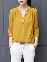 Недорогие -женская кофточка - цельная цветная шея