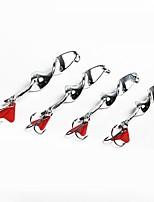 abordables -5 pcs leurres de pêche Cuillères Métal Facile à Utiliser Pêche en mer / Pêche à la mouche / Pêche d'appât