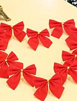 Недорогие -Праздничные украшения Рождественский декор Рождественские украшения Декоративная Красный 12шт