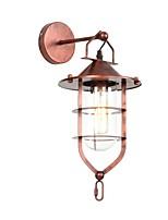 Недорогие -Мини / Новый дизайн LED / Ретро Настенные светильники Кабинет / Офис / кафе Металл настенный светильник 110-120Вольт / 220-240Вольт 4 W