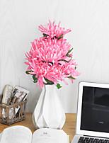 Недорогие -Искусственные Цветы 1 Филиал Классический Простой стиль Хризантема Букеты на стол