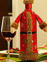 Недорогие -Мешки для вина Нетканый материал куб Оригинальные Рождественские украшения