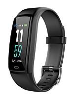 baratos -Pulseira inteligente Y9-vo para Android iOS Bluetooth Impermeável Monitor de Batimento Cardíaco Medição de Pressão Sanguínea Calorias Queimadas Tora de Exercicio Cronómetro Podômetro Aviso de Chamada