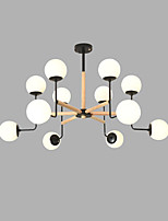 baratos -Sputnik Lustres Luz Ambiente Acabamentos Pintados Metal Vidro Criativo 110-120V / 220-240V