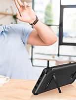 billiga -BENTOBEN fodral Till Samsung Galaxy Note 9 / Note 8 Stötsäker / med stativ / Plätering Skal Glittrig Hårt PU läder / TPU / PC för Note 9 / Note 8 / Note 5