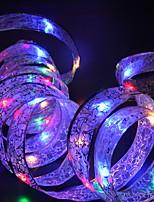 abordables -4m Guirlandes Lumineuses 40 LED Plusieurs Couleurs Décorative Piles AA alimentées 1 set