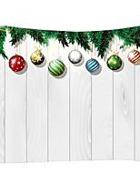 Недорогие -Новогодняя тематика / Семья Декор стены 100% полиэстер Modern Предметы искусства, Стена Гобелены Украшение