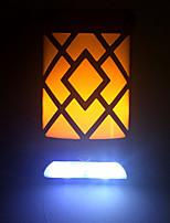 Недорогие -EXUP® 1шт 5 W Солнечный свет стены Работает от солнечной энергии / Декоративная / Cool Желтый + Холодный белый 3.7 V Уличное освещение / двор / Сад