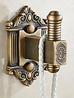 abordables -Crochet à Peignoir Design nouveau / Cool Moderne Laiton 1pc Montage mural