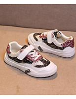 Недорогие -Девочки Обувь Синтетика Весна & осень Удобная обувь Кеды Шнуровка для Дети / Для подростков Темно-лиловый: