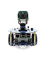abordables -waveshare alphabot2-pi3 b + (en) alphabot2 kit de construction pour robot framboise pi 3 modèle b +