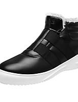 Недорогие -Муж. Комфортная обувь Полиуретан Осень На каждый день Кеды Нескользкий Черный / Коричневый / Синий
